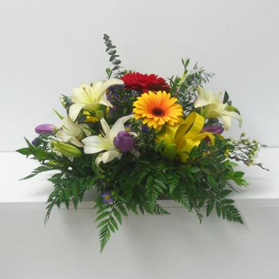 Saint valentin gerberas et lys fleurs rive sud for Fleuriste ligne