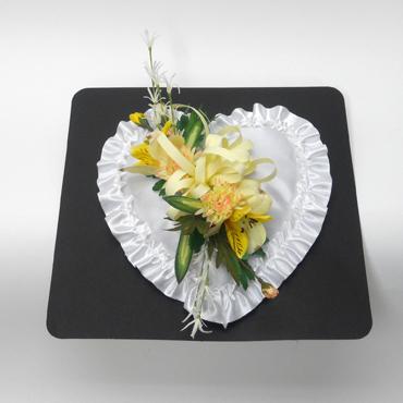 Coeur de Satin Fleuri