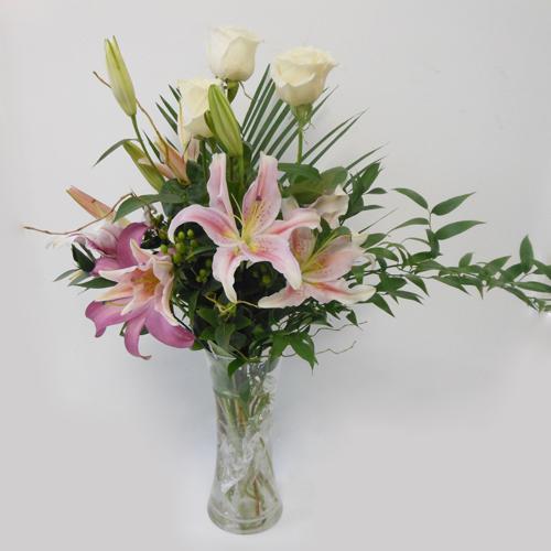 Lys&Roses&vase